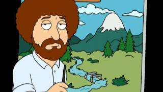 Family guy – Bob Ross