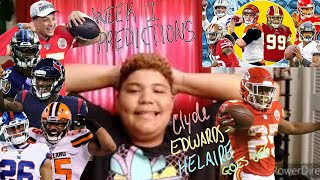 NFL WEEK #1 PREDICTIONS: CLYDE EDWARDS-HELAIRE GOES OFF?!?!!