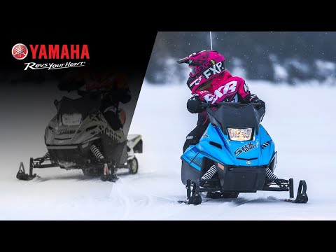 2021 Yamaha SRX120R in Ishpeming, Michigan - Video 1