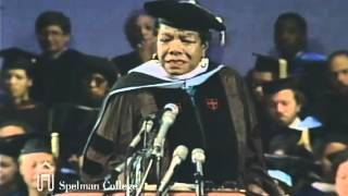 Dr. Angelou's Spelman College Commencement Speech