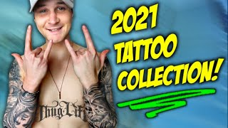 My EXPENSIVE 2021 TATTOO COLLECTION!! (Meanings, Regrets, & Face Tat)