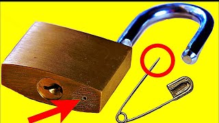 10 Ways to Open a Lock 🔴 NEW