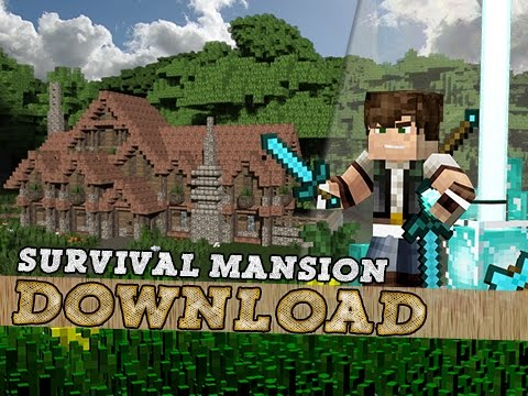 The Perfect Medieval Survival Mansion! Minecraft Project