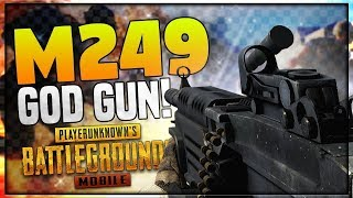 🔴PUBG Mobile : M249 LEKE MILTE HAI AGLE SAL! || FULL ON RUSH GAMEPLAY!!
