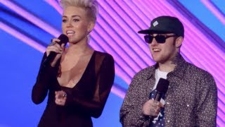 Музыкальный канал МТV, Miley Cyrus and Pink 2012 MTV Video Music Awards
