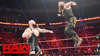 Ring Collapses during Big Show vs. Braun Strowman: Raw, April 17, 2017