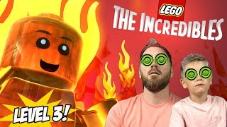 Jack Jack vs Raccoon, Screenslaver Looms! LEGO Incredibles 2 Gameplay Part 3