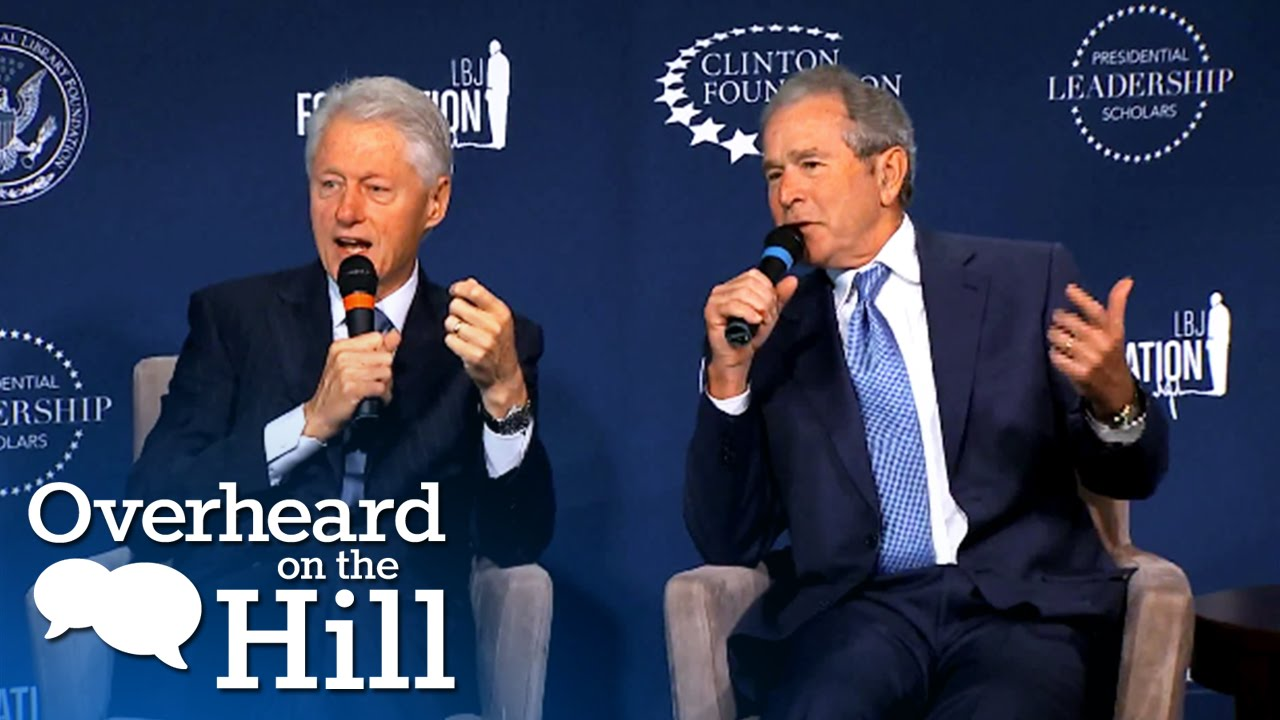 Clinton And Bush: A Bromance For The Ages | Overheard On The Hill | msnbc thumbnail