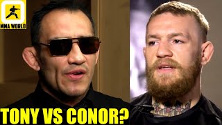 Tony Ferguson is the perfect opponent for a comeback fight after the leg injury for Conor McGregor