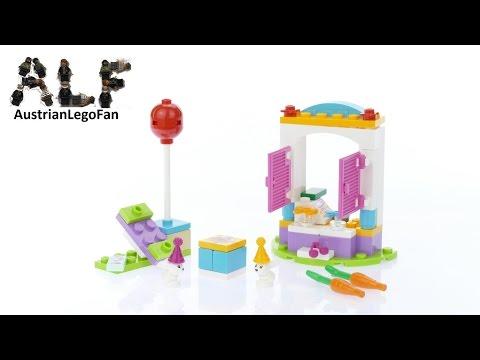 Vidéo LEGO Friends 41113 : L'anniversaire des lapins