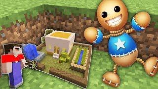 Мир УМЕНЬШИЛСЯ нуб в 1 блок и Кик зе Бади в Майнкрафт! Как найти Самую маленькую деревню !
