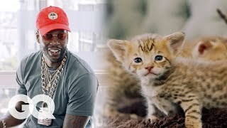 2 Chainz Plays with $165,000 Kittens | Most Expensivest Shit | GQ - Video Youtube
