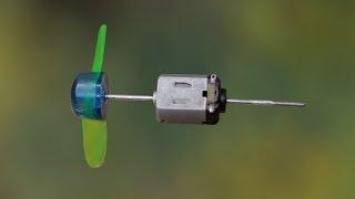 How to make dual shaft DC motor
