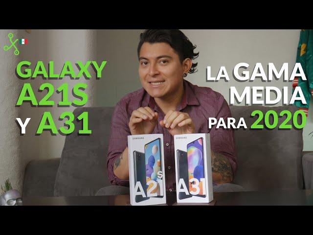 SAMSUNG A21S Y A31 llegan a México, UNBOXING, primeras impresiones y precio oficial