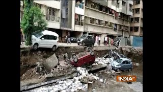 Mumbai's Ghatkopar society elevated wall collapses, no casualty reported