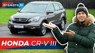 HONDA CR-V III - Terenowy Tylko Z Wyglądu?   Test OTOMOTO TV