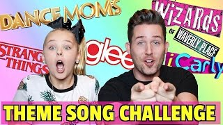 TV THEME SONG CHALLENGE // WITH JOJO SIWA!!!
