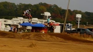 CRASH: High Speed Rhythm Section Close Call (MXPTV)