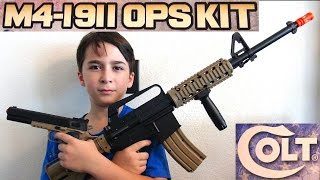 Airsoft Guns  M4 Airsoft Assault Rifle And 1911 COLT PISTOL With RobertAndre