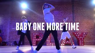 Baby One More Time (Live) Britney Spears | Kenny Wormald Choreography | Bailey Sok