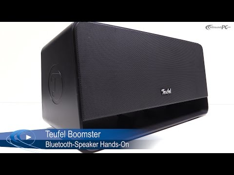Teufel Boomster 2.1-Bluetooth-Speaker Hands-On | Allround-PC.com