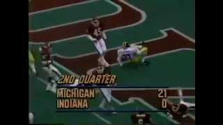 1986 Michigan Replay Michigan at Indiana