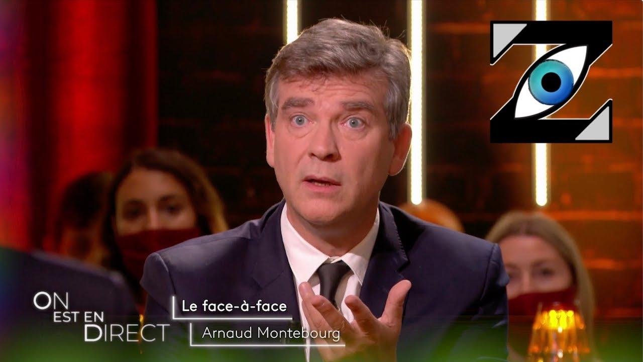 """[Zap Télé] Un lapsus d'A. Montebourg déclenche un éclat de rire dans """"On est en direct"""" ! (20/09/21)"""