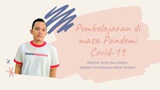 Riset menunjukkan pembelajaran daring meningkatkan penguasaan informasi dalam waktu yang lebih singkat. Artinya, perubahan akibat COVID-19 berpotensi bertahan seterusnya. Materi Strategi Pembelajaran di masa Pandemi Covid-19 disampaikan oleh Ari Wibowo, dari Komunitas Guru Belajar, sangat pas dengan kejadian yang sekarang dialami oleh komunitas sekolah di Indonesia.