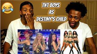TNT Boys as Destiny's Child | Survivor : Your Face Sounds Familiar Kids 2018 (REACTION)
