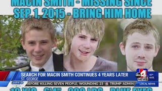 After 4 Years, Macin Smith Still Missing