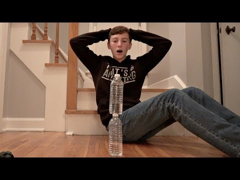 Water Bottle Flip Trick Shots 4 | That's Amazing