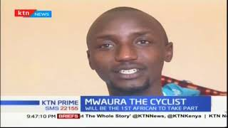 James Mwaura to participate in the Red Bull cycling competitions