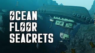 Ocean Floor Seacrets - Let's Explore the Ocean Floor of Fallout 4