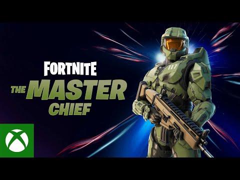 Annonce Master Chief de Fortnite