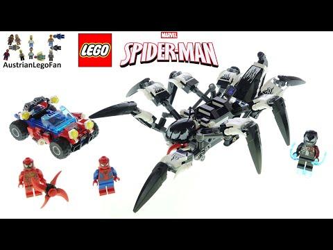 Vidéo LEGO Marvel 76163 : Spider-Man : Le véhicule araignée de Venom