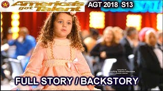 Sophie Fatu 5 Years Old Full Story / FULL BACKSTORY America's Got Talent 2018 Audition AGT