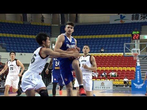HIGHLIGHTS: Gilas Pilipinas vs. Japan (VIDEO) Jones Cup 2017