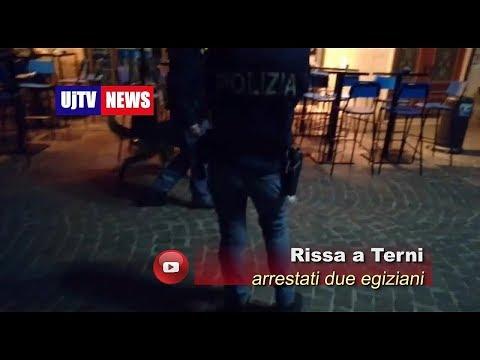 Rissa e due arresti