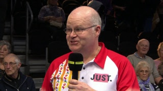 Just. 2019 World Indoor Bowls Championships: Day 15 Session 2
