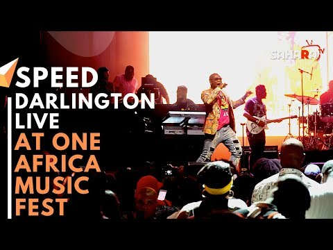 SPEED DARLINGTON Performs Live At #ONEAFRICAMUSICFEST NYC 2019