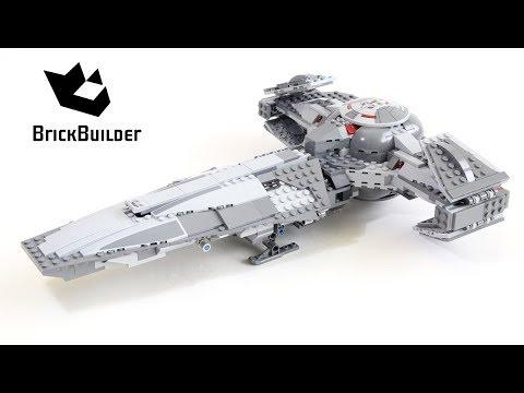 Vidéo LEGO Star Wars 75096 : Le vaisseau Infiltrator Sith de Dark Maul