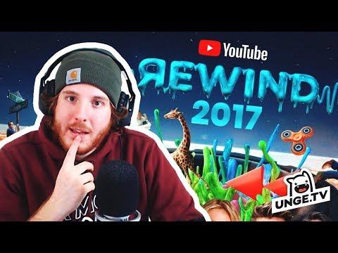 Unge REAGIERT auf YouTube Rewind 2017! | ungeklickt