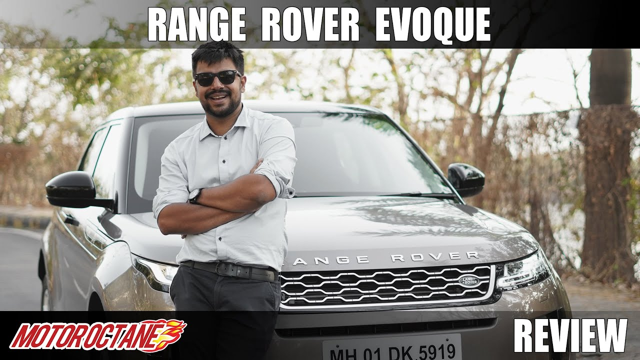 Motoroctane Youtube Video - 2020 Range Rover Evoque Review - Better Baby Rangie? Hindi | MotorOctane