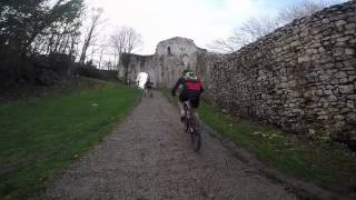 preview picture of video 'Côte en VTT - Trou Au Chat Provins - GoPro Hero4'