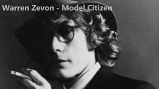 Warren Zevon - Model Citizen