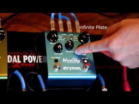 strymon blue sky reverberator reverb pedal andertons. Black Bedroom Furniture Sets. Home Design Ideas