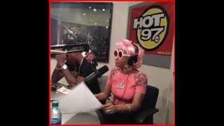 Nicki Minaj Name Checks Missy Elliott (HOT97 interview Funkmaster Flex)