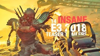 14 INSANE E3 2018 TEASER TRAILERS - dooclip.me