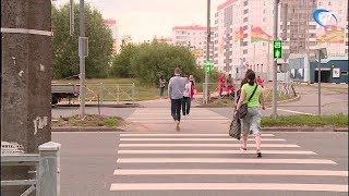 На улице Державина, возле микрорайона «Ивушки», появился светофор