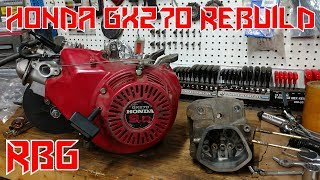How To Rebuild A Honda GX270 Predator 301cc Engine